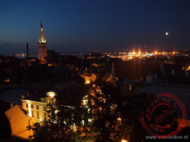 Baltisch Staten - De nacht is gevallen over Tallinn