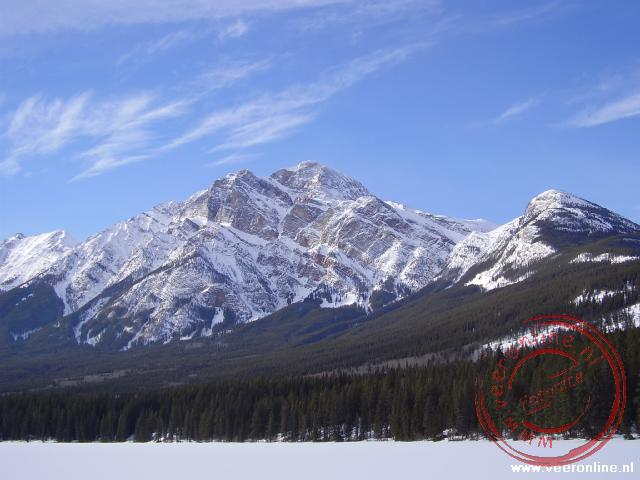 Canadian Rocky Mountains - Mount Pyramide