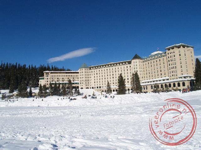 Canadian Rocky Mountains - Het hotel bij Lake Louise