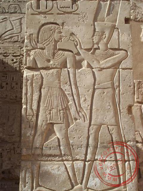Rondreis Egypte - De offering aan de god Amun Ra