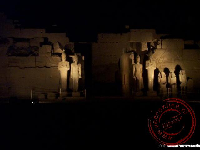Rondreis Egypte - Sound and Lightshow in Karnak