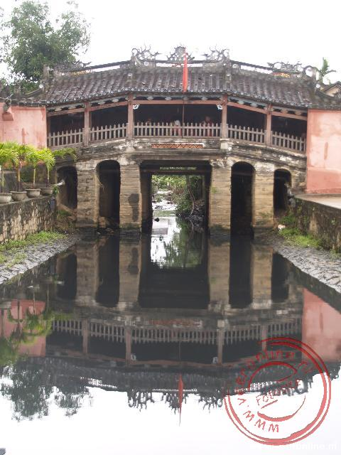 Rondreis Indochina - De Japanse brug in Hoi An