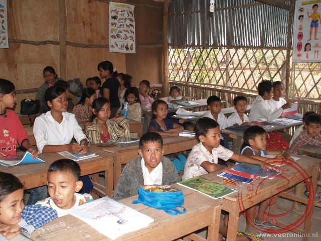 Rondreis Indochina - De schoolklas in Siem Reap