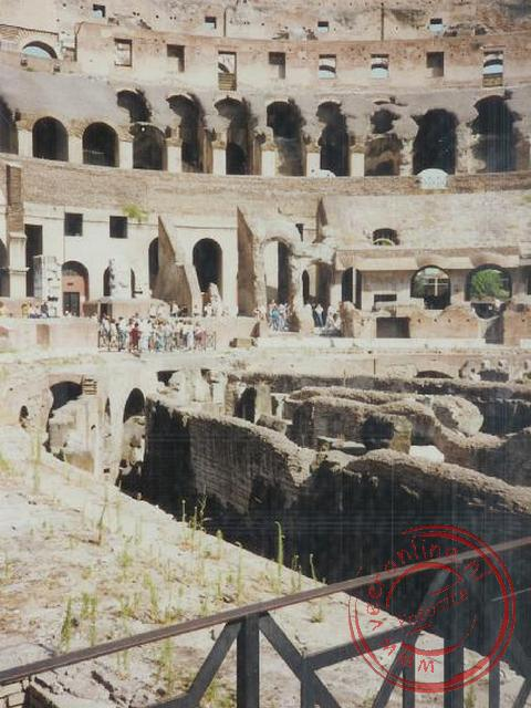 Interrail Europa 1991 - Het Colosseum in Rome