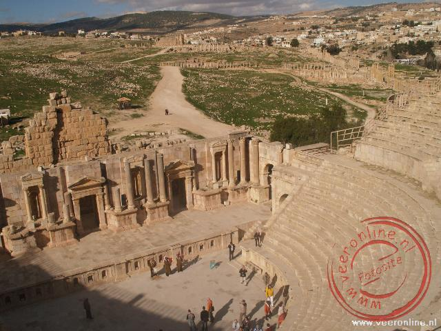 Rondreis Jordanië - Het South Theater in Jerash