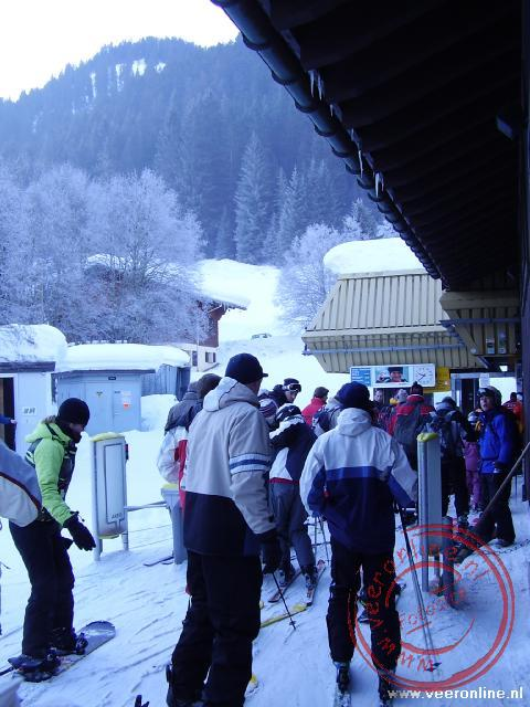 Wintersport Morgins - Instappen lift
