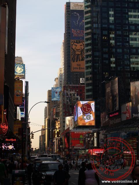 Stedentrip New York - De verlichting van Broadway