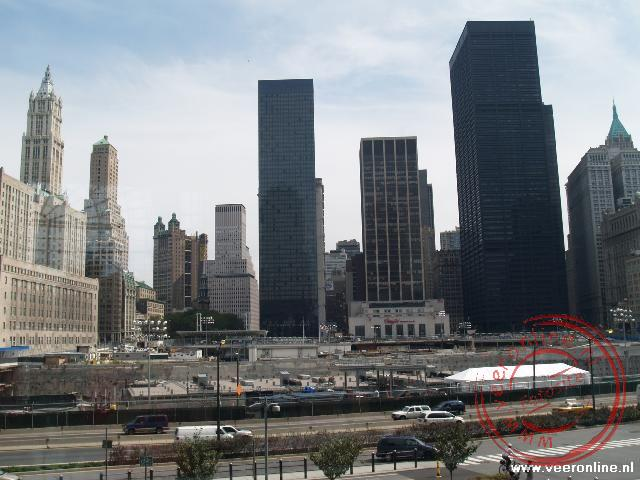 Stedentrip New York - Ground Zero de voormalige plaats van de Twin Towers