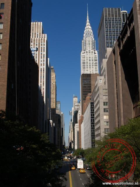Stedentrip New York - De East 33th Street met zicht op de Chrysler Tower