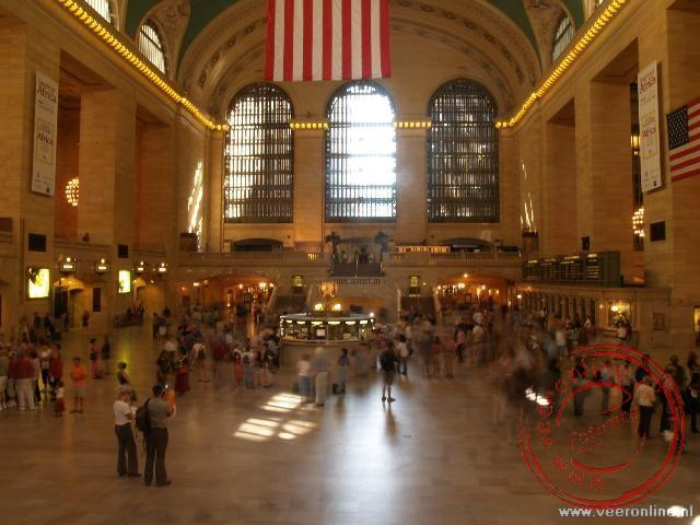 Stedentrip New York - Het antieke interieur van Grand Central Station