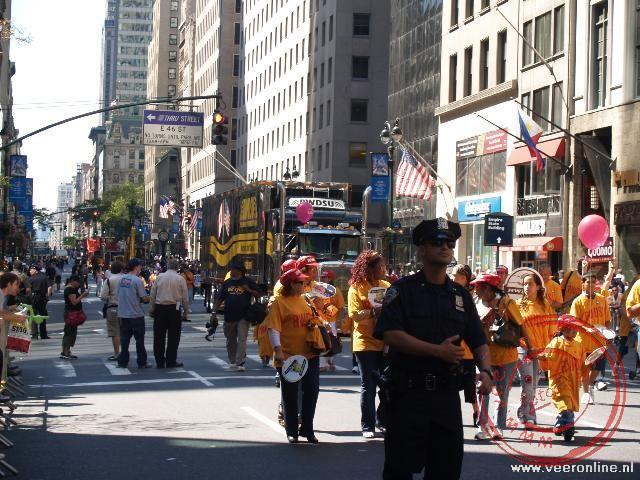 Stedentrip New York - Liberty Day Parade in de 5th Avenu