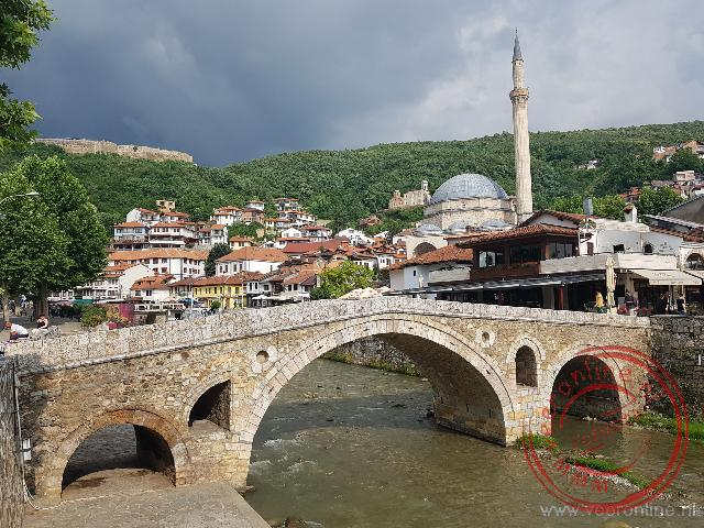Een roadtrip door Europa - De oude brug in Prizren