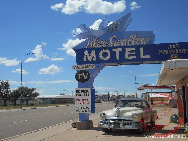 Coast to coast USA - Het Route66 hotel Blue Swallow