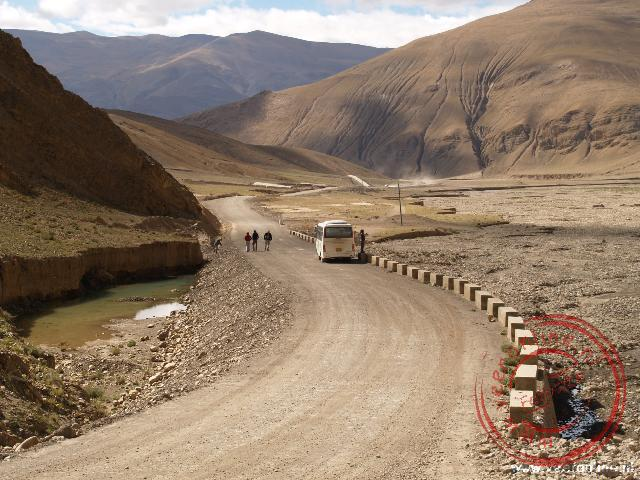 Rondreis Nepal en Tibet - De route richting de Mount Everest